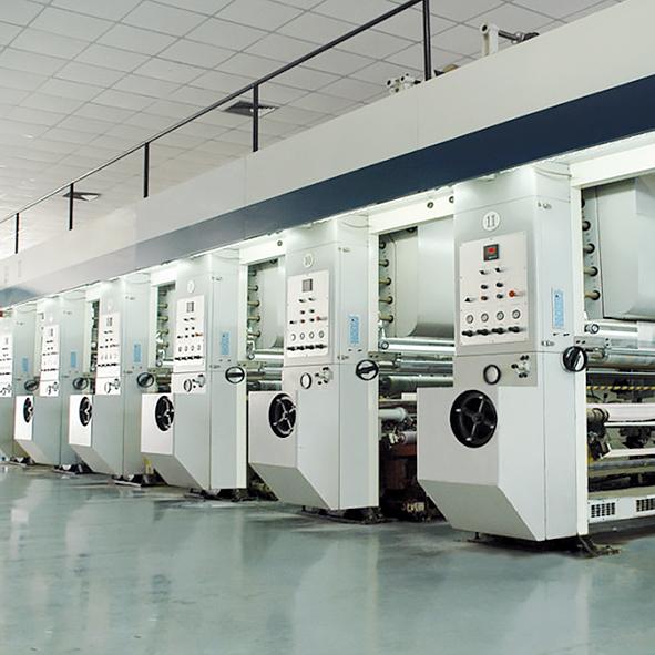 Оборудование и технологии, ротогравюрная печать